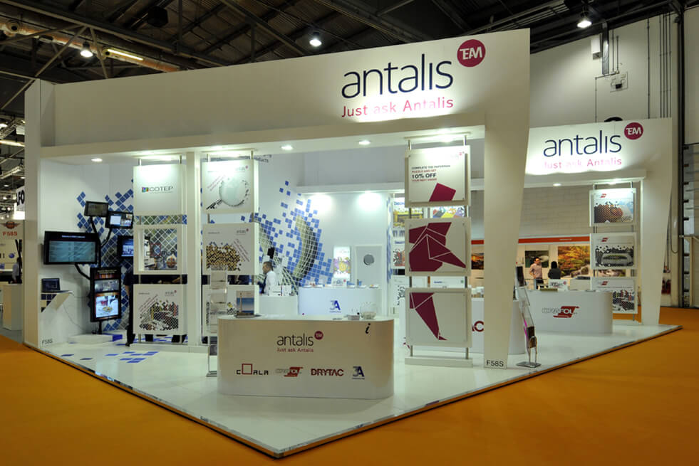Exhibition Stand For Antalis