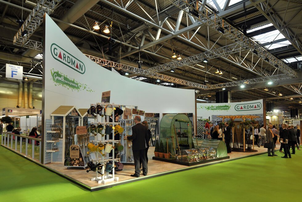 Exhibition Stand For Gardman